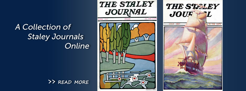 Staley Journals Online