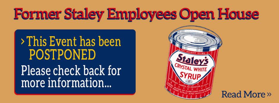 Staley Retirees Open House Postponed
