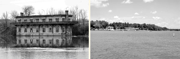 The Staley Pump house & Fellowship Club was created in 1919, followed up by the creation of Lake Decatur in 1920-22.