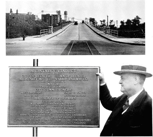 The Staley Viaduct was inaugurated in July of 1928 Photo Courtesy of the Tate & Lyle archives